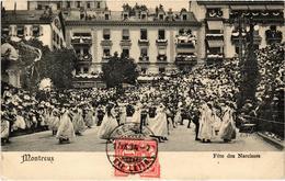 SUISSE - MONTREUX - La Fête Des Narcisses - Précurseur - Rare - Carte Postée - VD Vaud