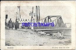 93972 POLAND KRAKOW THE BRIDGE SPOTTED POSTAL POSTCARD - Polen
