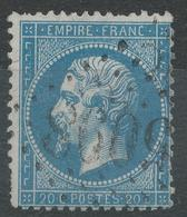 Lot N°42713  N°22, Oblit GC étranger 5098 Smyrme, (Turquie) - 1862 Napoleon III