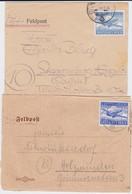 COLL Belege Deutsche Feldpost 2 Weltkrieg Luftfeldpost Mit Marke 1942-44 + Extra SLG - Stamps