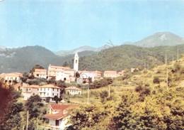 Cartolina Ossegna Di Maissana Albergo Belvedere - La Spezia
