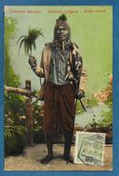MOCAMBIQUE MOZAMBICO LOURENCO MARQUES MAPUTO FEITICEIRO INDIGENA 1913 - Mozambico