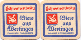 #D204-220 Viltje Schwanenbräu - Sous-bocks