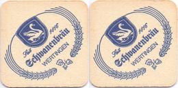 #D204-225 Viltje Schwanenbräu - Sous-bocks