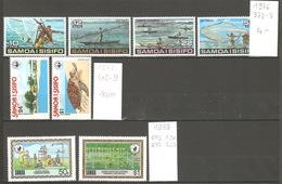 Samoa, 1978-88, Lot Divers - Samoa
