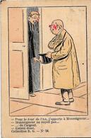 CPA Anticléricalisme Anticlérical Circulé En 1906 Séparation - Christendom