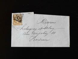 LETTRE ( FACTURE )  DE BORDEAUX A BORDEAUX - Postmark Collection (Covers)