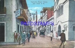93990 PUERTO RICO SAN JUAN SALVADOR BRAU STREET  POSTAL POSTCARD - Postcards