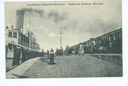 Veerdienst Enkhuizen Stavoren Aankomst Sneltrein Stavoren ( Trein - Train ) - Enkhuizen