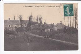 LE CHATELLIER - ENTREE DU BOURG - 35 - Francia