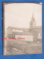 Photo Ancienne D'un Poilu - VILLE EN WOEVRE ( Meuse ) - L' Eglise - Décembre 1914 - WW1 Front Campagne Guerre - Guerra, Militari