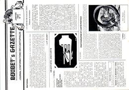 BOUBET's Gazette - Journal D'informations Des Cartophiles Avril 1982 N°3 - Oblitération - Bourses & Salons De Collections