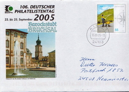 Germany Used Postal Stationery Cover - Post