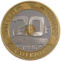 """FRANCE PIECE DE 20 FRANCS 1995 """"MONT SAINT-MICHEL (SPL) - France"""