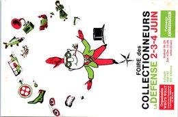 Foire Des Collectionneurs La Défense 2-3-4 Juin Année 1978 Jean Feixas N°00671 Les Cartophiles Contemporains - Bourses & Salons De Collections