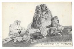 Cpa: 22 PLEVENON (ar. Dinan) Les Roches Massé (Vache) N° 12  (rare) - France