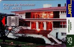 TARJETA TELEFONICA DE URUGUAY. 191a (PARQUE DE VACACIONES UTE-ANTEL) (295) - Uruguay