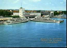 """Friedrichshafen : Begegnung Des Motorschiffe """"Stuttgart"""" Und """"Vorarlberg"""" - Friedrichshafen"""