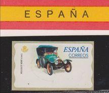 ATM ESPAÑA COCHES - CARS. PEUGEOT BEBÉ. NUEVO - MNH - Coches