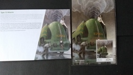 """Chemin De Fer: Numéro TRV-BL22 """"Locomotives à Vapeur -  Type 12 Atlantic """" - Autres"""