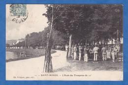 CPA - SAINT MIHIEL - L' Ecole Des Trompettes Du 12e Chasseurs à Cheval - 1906 - Saint Mihiel
