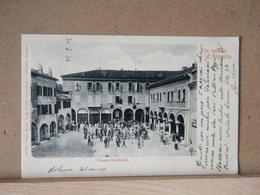 MONDOSORPRESA, ARGENTA  PIAZZA GARIBALDI  ANIMATA - 1905- VIAGGIATA - Altre Città