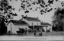 [64] Pyrénées-Atlantiques > Oloron Sainte Marie /GARE /ATTELAGE /  LOT 233 - Oloron Sainte Marie