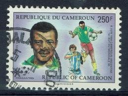 Cameroon, Football, Soccer, World Cup In Italia, 1990, VFU - Cameroon (1960-...)
