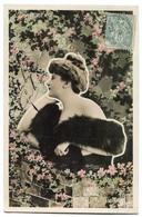 CPA  Femme  Fourrure REUTLINGER 1908 - Femmes