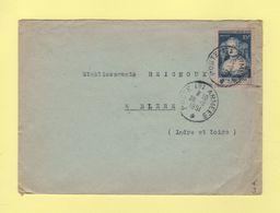N°874 Seul Sur Lettre - Poste Aux Armees - 1951 - Marcophilie (Lettres)