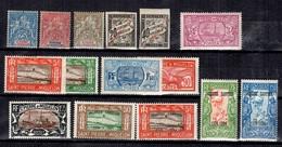Saint-Pierre Et Miquelon Belle Petite Collection D'anciens Neufs * 1892/1934. Bonnes Valeurs. B/TB. A Saisir! - St.Pierre Et Miquelon