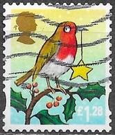 GB - Noël - Adhésif - Y&T N° 3778 - Oblitéré - 1952-.... (Elizabeth II)