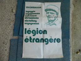 AFFICHE LEGION ETRANGERE INFORMATION ENGAGEMENT - Affiches