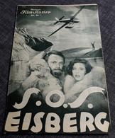 """Altes/Seltenes IFK-Filmprogramm - LENI RIEFENSTAHL In """"S.O.S Eisberg"""" Mit Ernst Udet ... TOP RARITÄT - 181038 - Magazines"""
