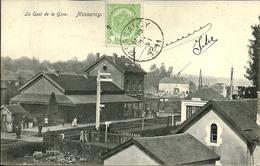 Messancy Le Quai De La Gare (voyagé En 1911) - Messancy