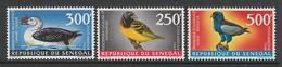 SERIE NEUVE DU SENEGAL - OISEAUX N° Y&T PA 65 A 67 - Collections, Lots & Series