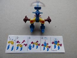 Collector Cadeau Kinder Surprise Réf K02 N°34 + Sa Notice - Mountables