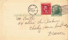 CPA Q.S.L. Carte De Radioamateurs Ancienne U.S.A. Beach Haven N.J. Accusé Réception Codifié (2 Scans) - Cartes Postales