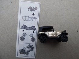 Collector Cadeau Kinder Surprise Réf K02 N° 97 + Sa Notice - Mountables