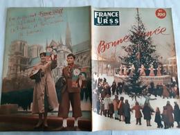 France URSS Magazine JANVIER 1954 BONNE ANNEE 30 EME ANNIVERSAIRE MORT LENINE/ LENINE  A PARIS PAR UN COMPAGNON D EXIL - General Issues