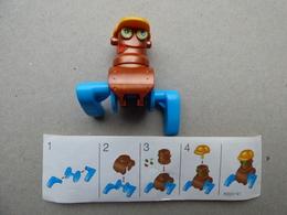 Collector Cadeau Kinder Surprise Réf K02 N° 41 + Sa Notice - Mountables