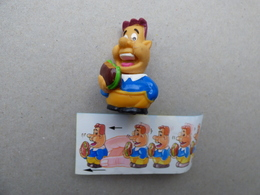 Collector Cadeau Kinder Surprise Réf K02 N° 114 + Sa Notice (Seconde Offre) - Mountables