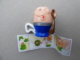 Collector Cadeau Kinder Surprise Réf K02 N° 50 + Sa Notice - Mountables