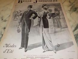ANCIENNE PUBLICITE MAGASIN BELLE JARDINIERE MODES ETE 1912 - Vintage Clothes & Linen