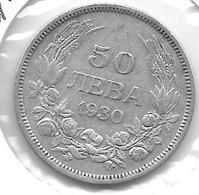 *Bulgaria 50 Leva  1930  Km 42  Vf+ - Bulgarie