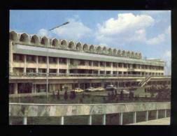 042981 USSR Frunze Airport Manas Old Photo PC - Zeppeline