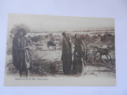 MAURES AU LAC DE MAL - Mauretanien