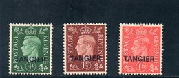 TANGIER 1937 * - Morocco Agencies / Tangier (...-1958)