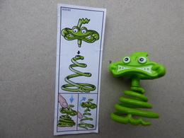 Collector Cadeau Kinder Surprise Réf K02 N° 82 + Sa Notice BPZ - Mountables