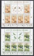 Romania 1999 Rumänien Mi5414klb-5415klb Europe: Nature And National Parks. Birds /Europa: Natur- Und Nationalparks.Vögel - Europa-CEPT